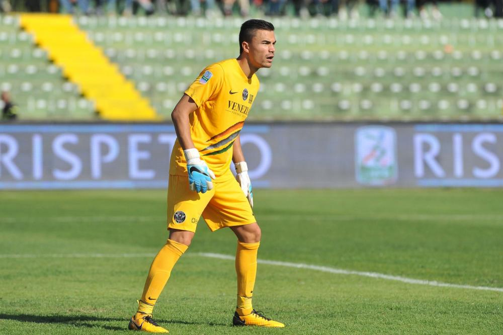 Emil Audero in action for Venezia - Source: TUTTOmercatoWEB.com