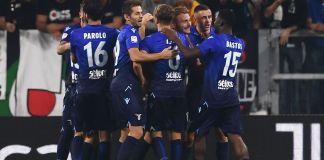 Lazio squad celebrating, Source- ESPN.com
