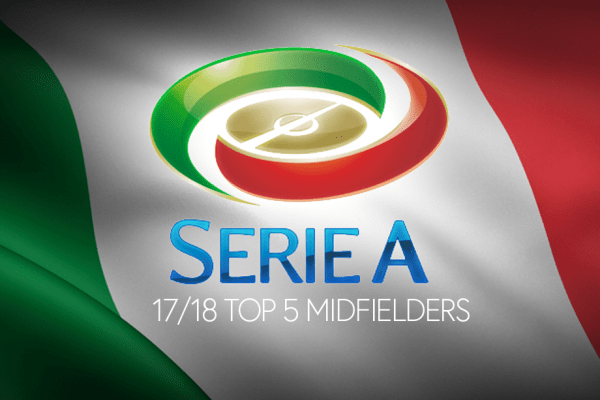 Top 5 Midfielders of the Serie A TIM, @snhw_