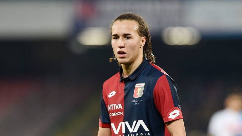 Diego Laxalt of Genoa, Source GettyImages