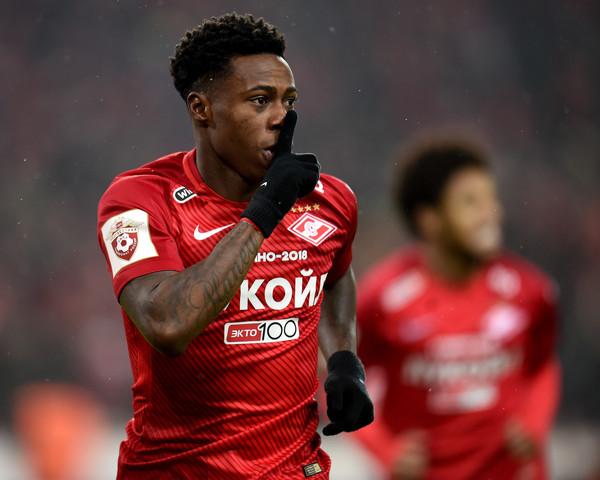 Quincy Promes at Spartak Moscow - Source: Zimbio