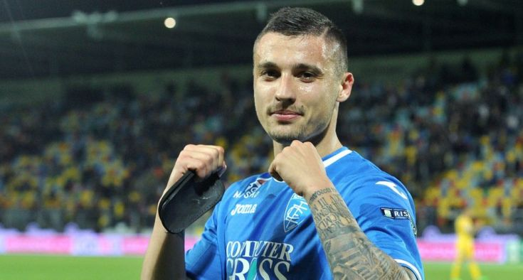 Rade Krunić of Empoli, Source- Sport Centar