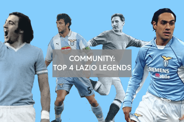 Community: Top 3 Lazio Legends