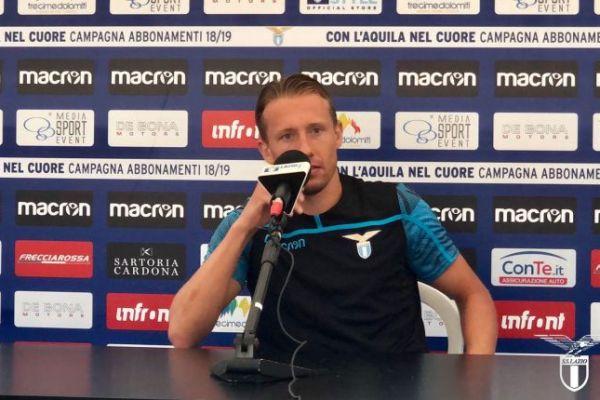 Lucas Leiva, Source- Official S.S.Lazio