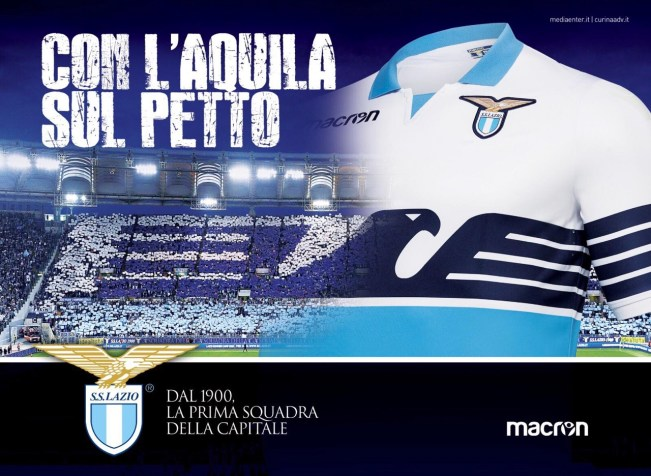 Lazio 18/19 Home Kit