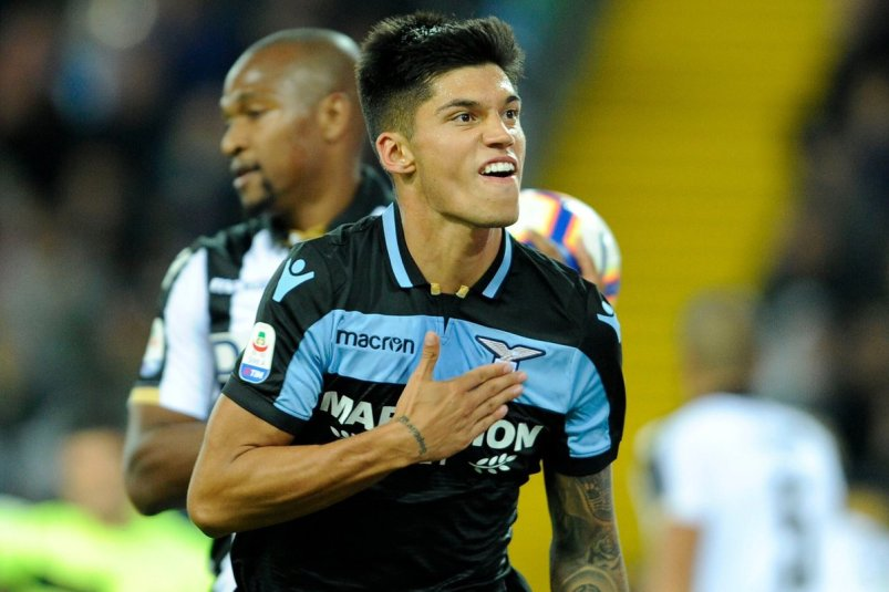 Joaquin Correa for Lazio - Source - OK NG