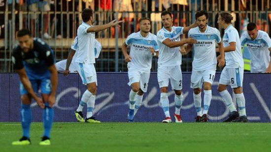 Empoli 0-1 Lazio - Source - Eurosport