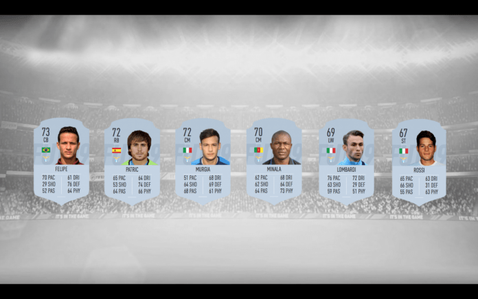 Lazio Silver Players, Designed by Steven Moore