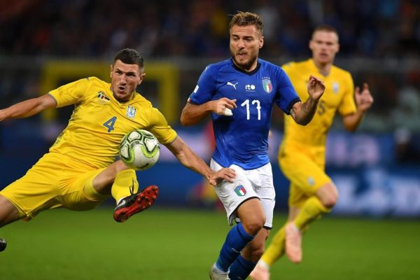 Ciro Immobile for Italy - Source - EuroSport