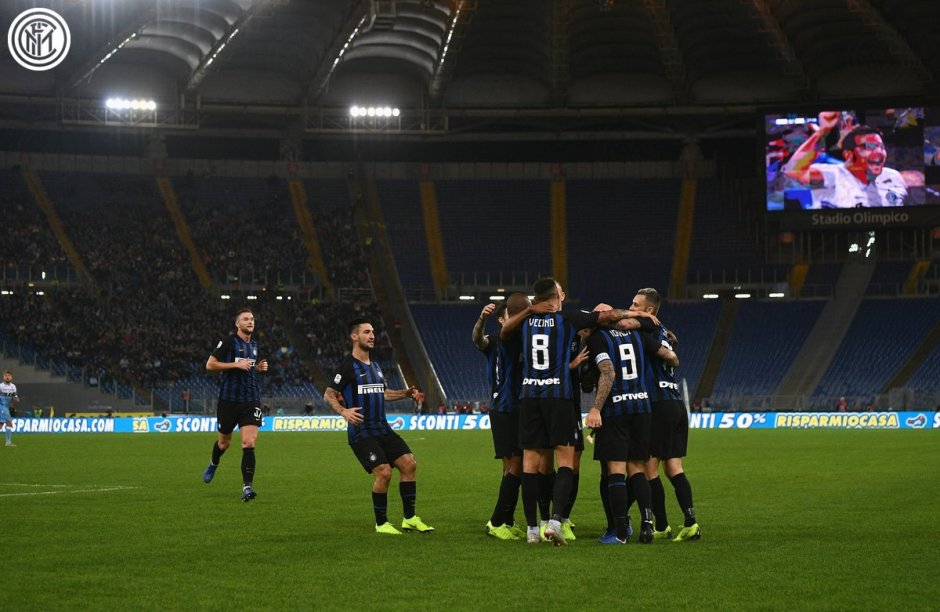 Lazio vs Inter - Source: Inter_en on Twitter