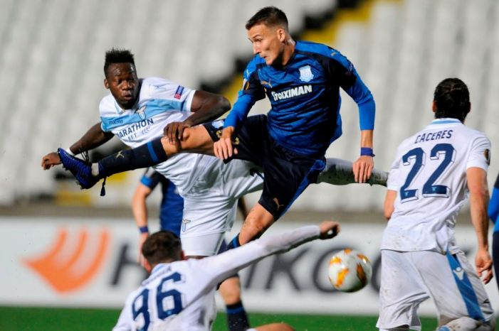 Apollon Limassol vs Lazio, Source- Getty Images