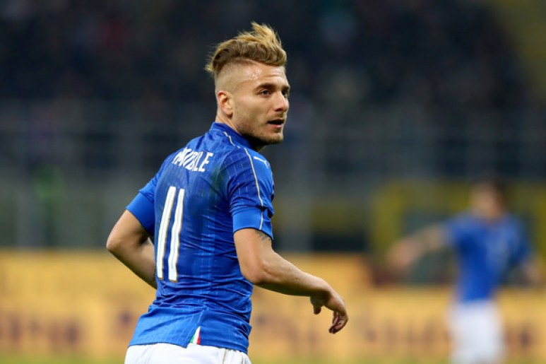 Ciro Immobile for Italy, Source- Getty Images