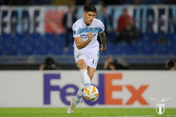 Joaquin Correa, Source- Official S.S.Lazio