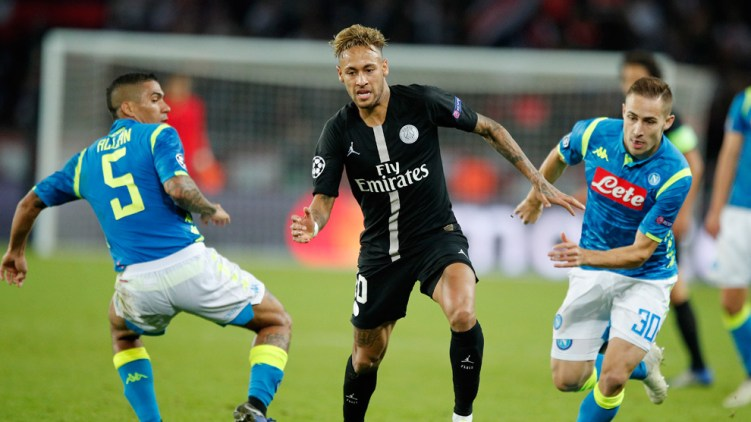 Napoli vs PSG, Source- Getty Images