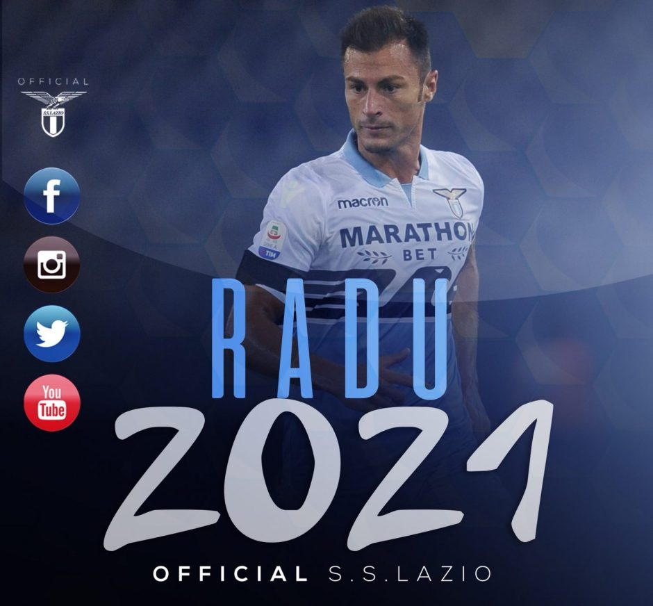 Stefan Radu, Source- Official S.S.Lazio