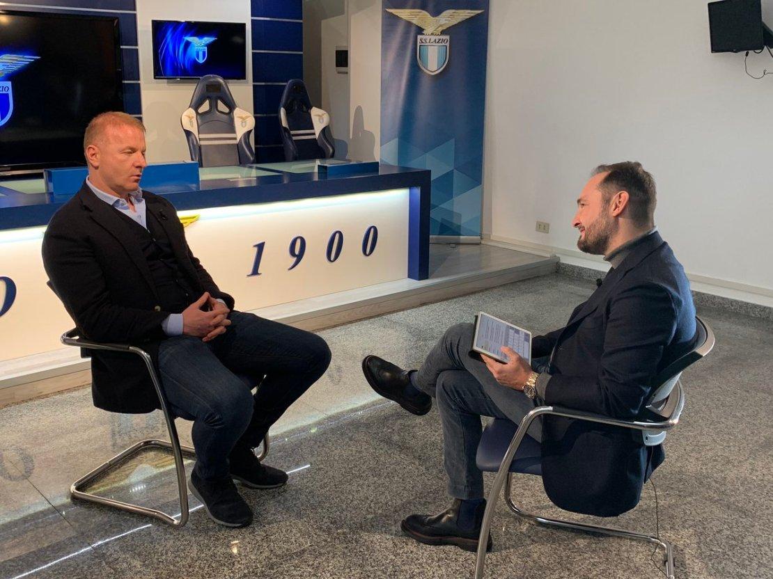 Gianluca Di Marzio and Igli Tare, Source- Sky Sports