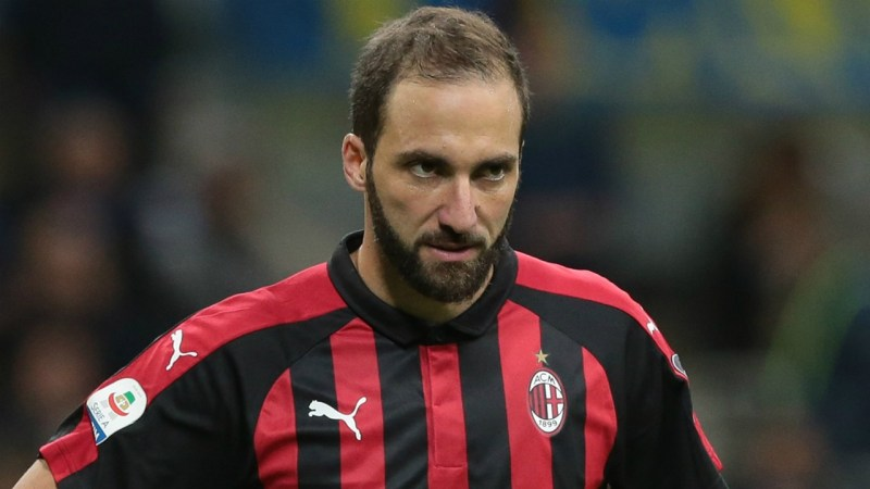 Gonzalo Higuain, Source- Getty Images