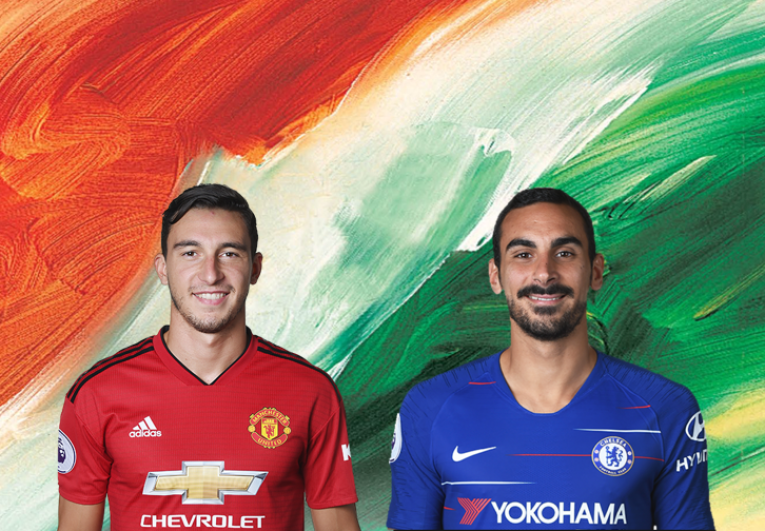 Matteo Darmian and Davide Zappacosta, Designed by Steven Moore