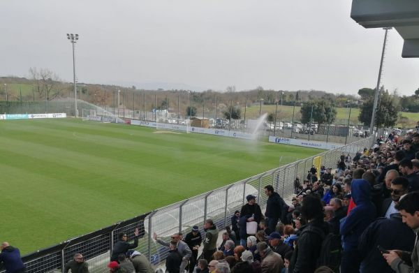 Lazio's open training at Formello -SportsNewsAgency