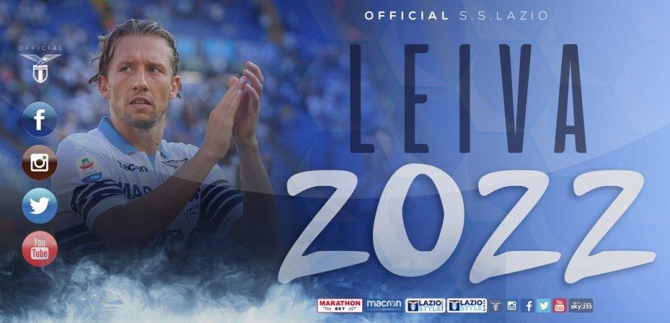 Lucas Leiva, source: S.S. Lazio Official Twitter