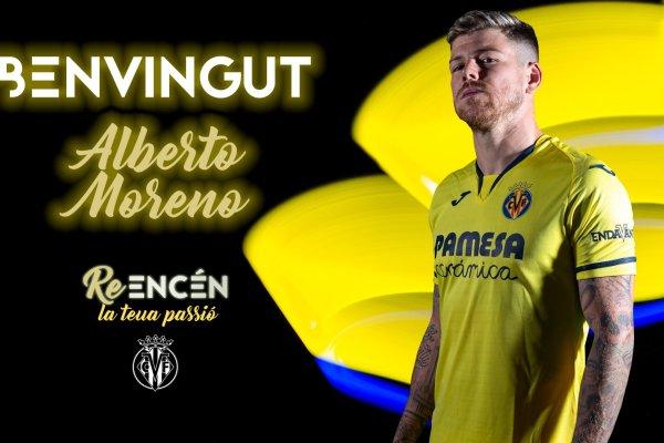 Alberto Moreno, Source- Villarreal CF