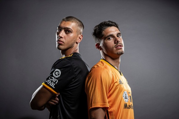 Pedro Neto and Bruno Jordao presented by Wolverhampton, Source- Express Star