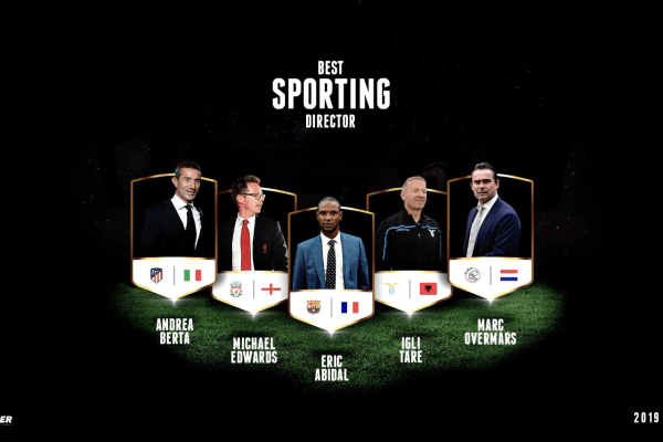 Nominees for the Best Sporting Director Globe Soccer Award, Source- @Globe_Soccer