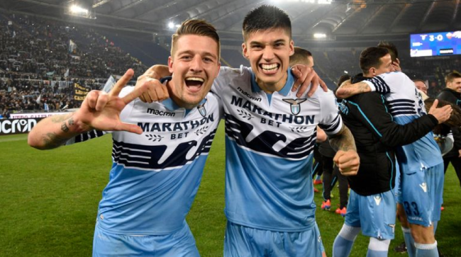 Sergej Milinkovic-Savic and Joaquin Correa, Source- Getty Images