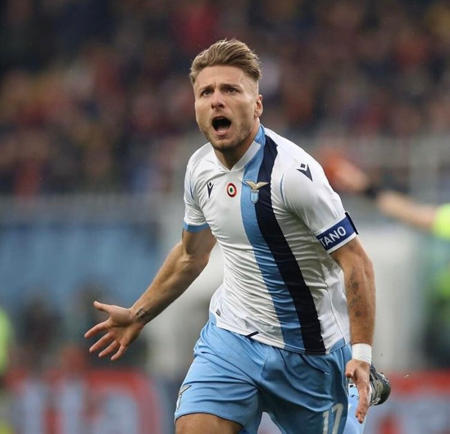 Ciro Immobile, Source- Official S.S. Lazio