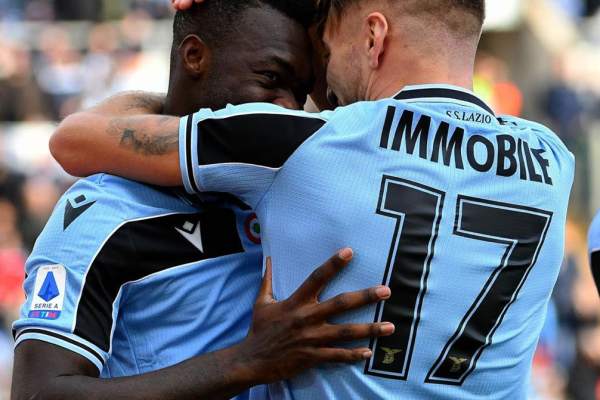 Ciro Immobile and Felipe Caicedo, Source- Official S.S.Lazio