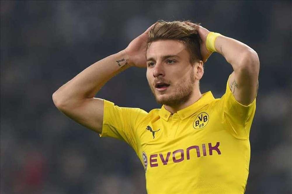 Ciro Immobile at Borussia Dortmund, Source- Getty Images