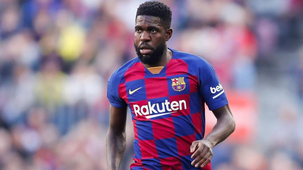 FC Barcelona's Samuel Umtiti, Source- Diario AS