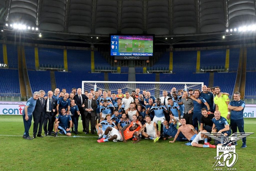 Lazio S Pursuit Of Climbing The Serie A Table The Details The Laziali