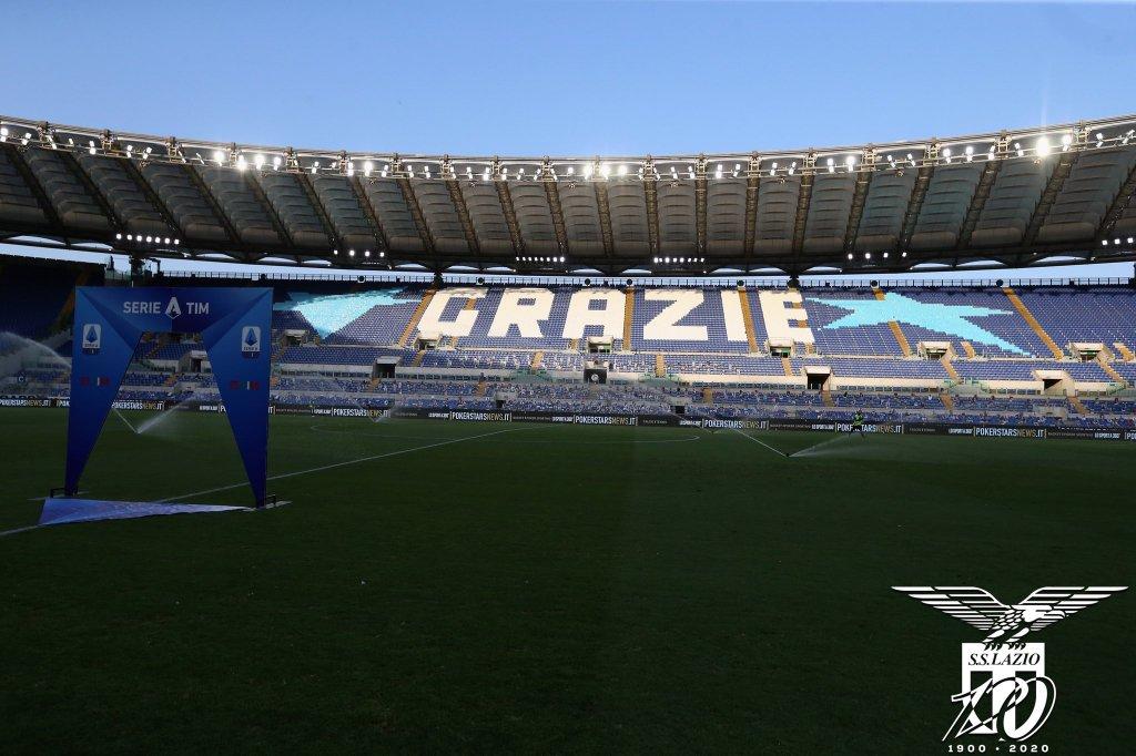 2019/20 Serie A - Matchday 37 - Lazio vs Brescia - Stadio Olimpico, Source- Official S.S. Lazio