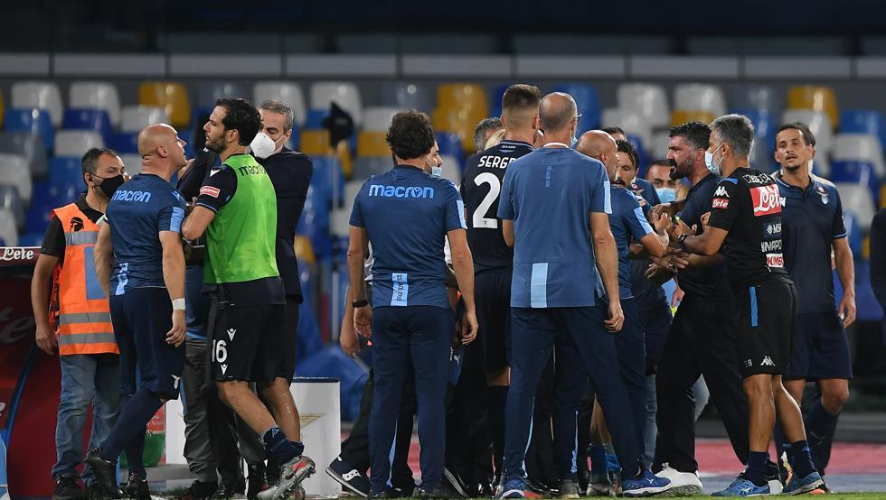 2019/20 Serie A - Matchday 38 - Napoli vs Lazio, Source- Getty Images
