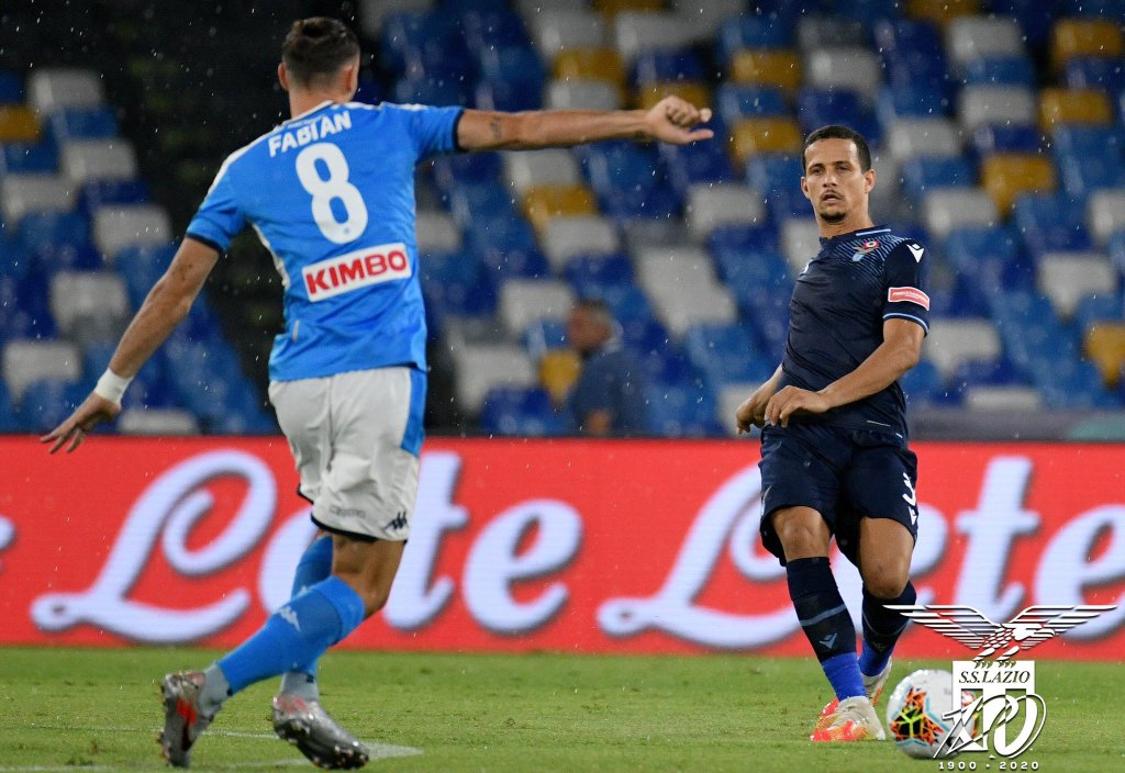 2019/20 Serie A - Matchday 38 - Napoli vs Lazio - Fabian Ruiz and Luiz Felipe, Source- Official S.S. Lazio
