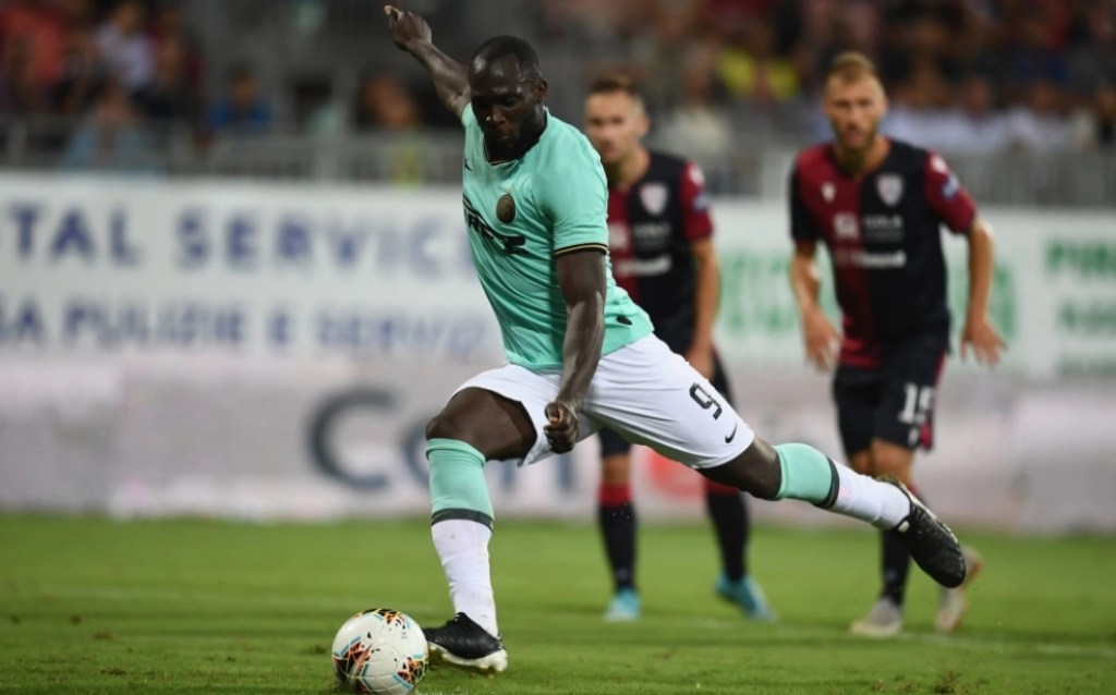 2019/20 Serie A - Matchday 2 - Cagliari vs Inter - Romelu Lukaku, Source - Telegraph.co.uk