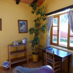 Living Room Desk Grey With Blue And Yellow Accents Window Lazy Dog Inn Leave A Reply Cancel