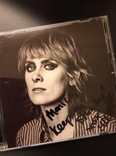 autographed Ellevator CD