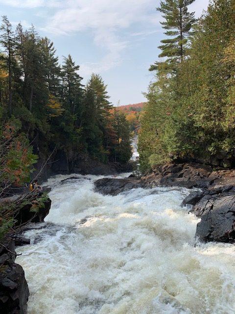 oxtongue river and ragged falls