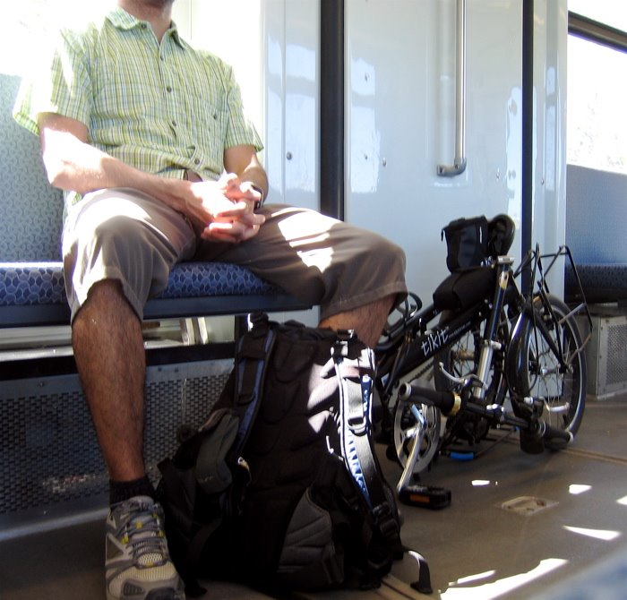 Riding the light transit with the Tikit