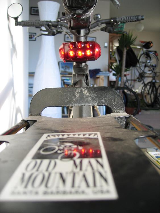 OMM rack & Cateye LD1000 blinky