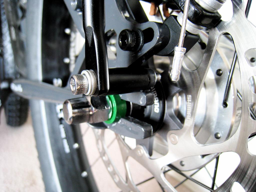 Filzer disc brake rear rack spacer