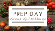 What is Prep Day for Raw Feeders & Why I Don't Have One