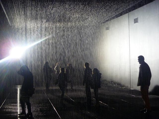 rain room barbican centre