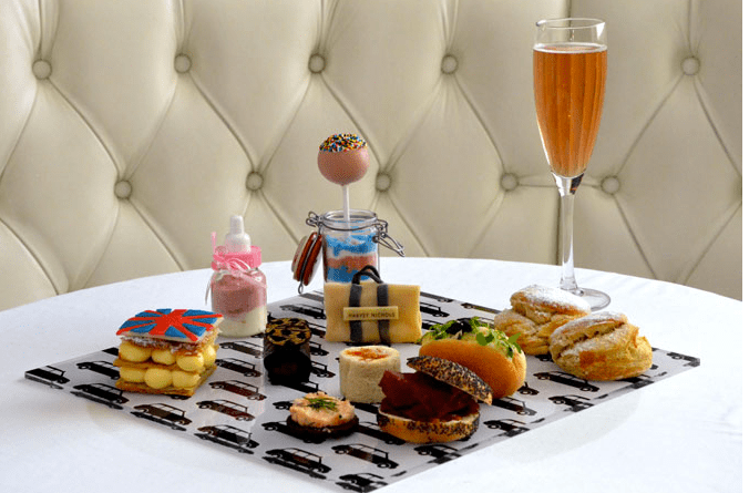 spice girls afternoon tea