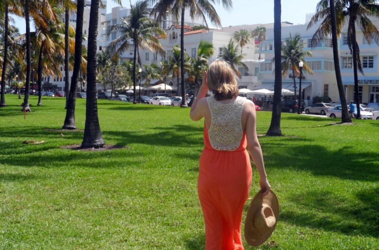 Topshop Tangerine Dress