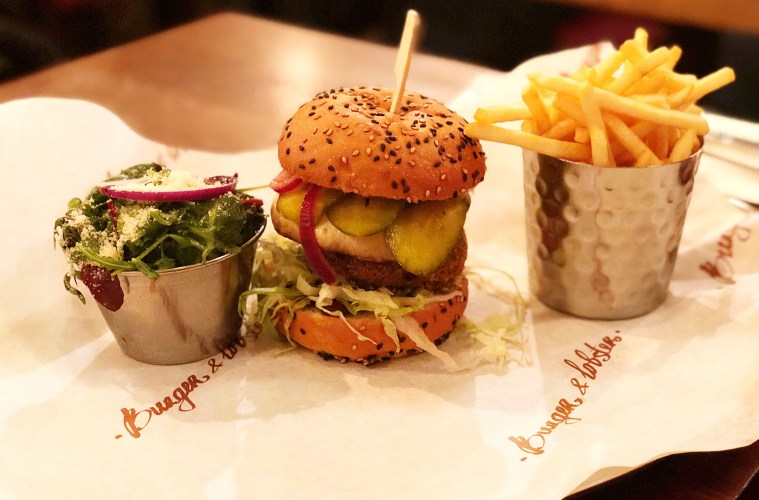 Burger & Lobster - best burger in London - The LDN Diaries