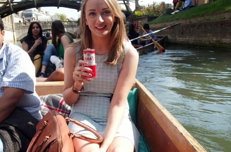 Pimms & Punting Cambridge