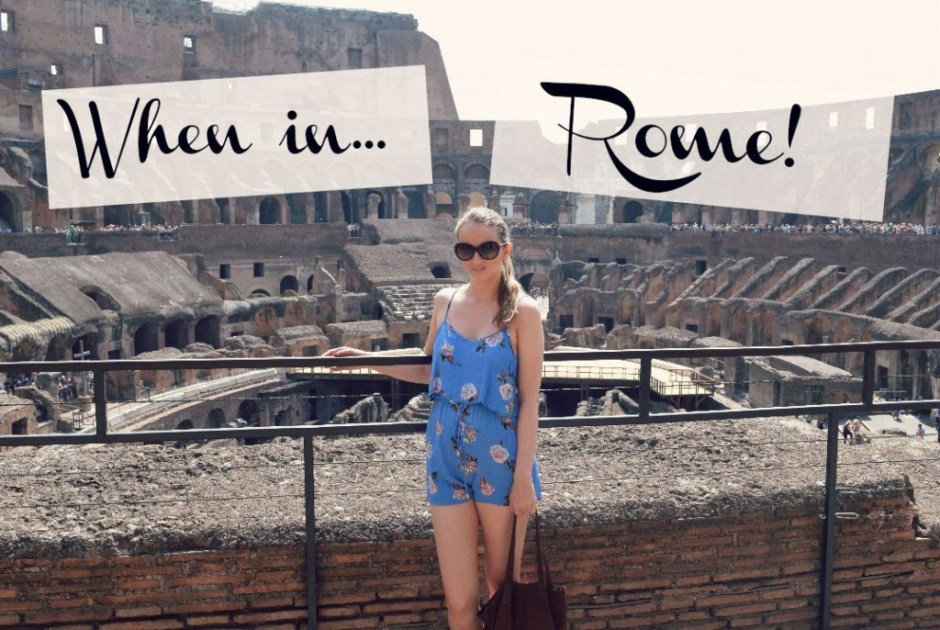 When In Rome   Things To Do In Rome